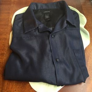CLAIBORNE MENS RAYON & POLYESTER S-SLEEVES SHIRT